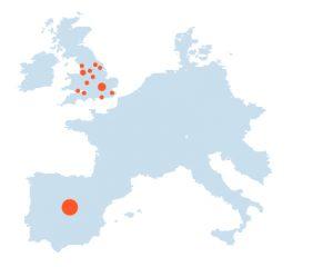 Mapa Europa (Ciudalcampo)