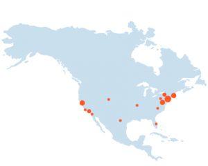 Mapa Norte América (Ciudalcampo)